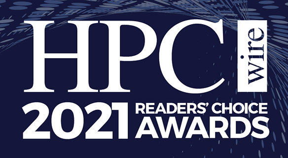 HPCwire Readers' Choice Awards 2021 logo